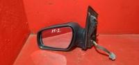 Фокус 2 зеркало левое электрическое черное 05-08