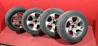 Комплект колес Ваз литые диски зимняя резина