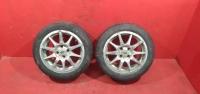 Ваз 2 литых диска 15 р. 10 лучей на прицеп колеса