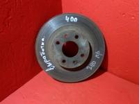 Диск тормозной Ваз 2110 калина с выработкой r14