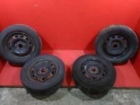 Комплект колес с Форд Фокус 2 диски штампованные