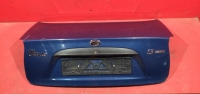 Крышка багажника Шевроле Ланос цвет синий