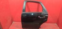 Форд фокус 2 дверь задняя левая черная 05-08