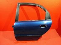 Ланос дверь задняя левая сенс шанс цвет синий