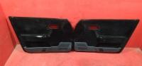 Ваз 2112 2110 комплект обшивок черная ткань