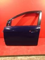Дверь передняя левая Форд Фокус 2 08- СИНЯЯ