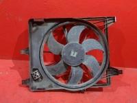 Вентилятор радиатора Рено Логан  под кондиционер