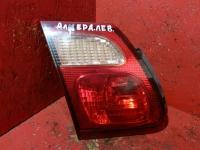 Фонарь задний на дверь багажника левый Nissan Almera 2000-2006 Ниссан