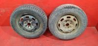 Москвич 2141 колеса зимние R14 2шт резина PIRELLI