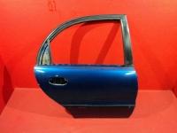 Ланос дверь задняя правая сенс шанс цвет синий