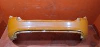 Калина кросс бампер задний оранжевый