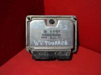 Блок управления двигателем Туарег 3.2L AZZ