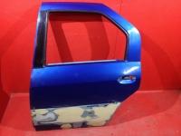 Дверь задняя левая Renault Logan 2005-2014 Рено логан