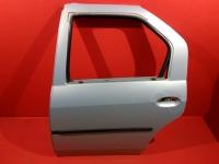 Дверь задняя левая Renault Logan 2014 Рено логан