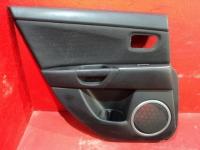 Обшивка задней левой двери Mazda 3 (BK) 2002-2009 Мазда 3